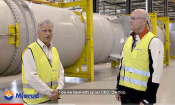 CEO Ole Torp & Marketing Manager Gunnar Mainitz
